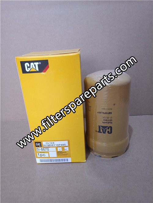 5I-8670 Caterpillar hydraulic filter on sale