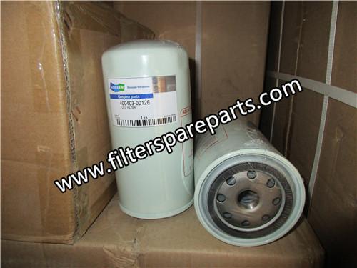 400403-00126 doosan fuel filter
