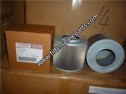 4190987 Hitachi hydraulic filter