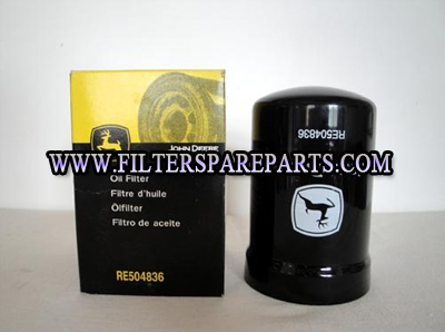 John deere oil filter RE504836