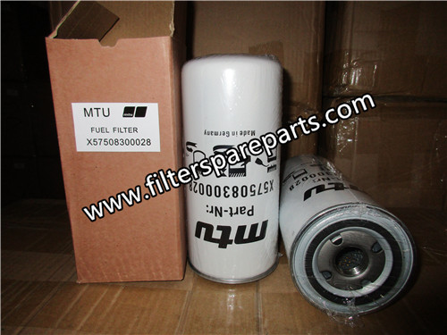 X57508300028 MTU fuel filter [X57508300028 high quality and